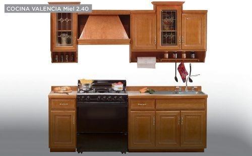 Cocina Modelo Valencia 240 Miel Këssa Muebles