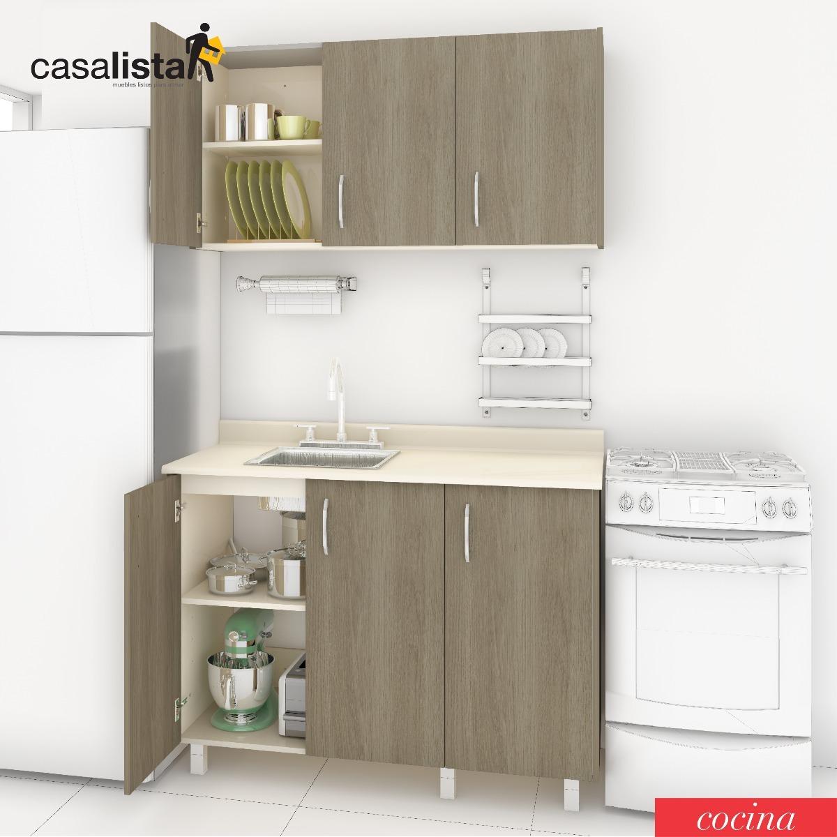 Cocina Modular 1,20 Mts Casalista® Cocina - Bs. 195.700.000,00 en ...