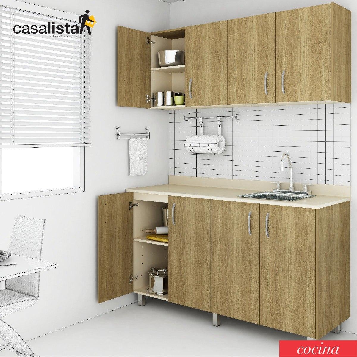 Cocina Modular 1,50 Mts Casalista® Cocina - Bs. 228.600.000,00 en ...