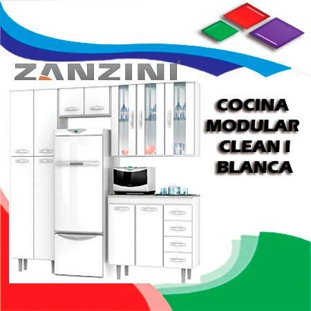 cocina modular cleani zanzini