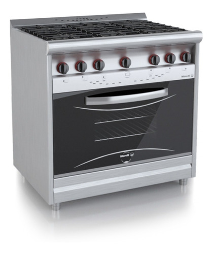 cocina morelli country 900 6 h pta visor horno pizzero cuota