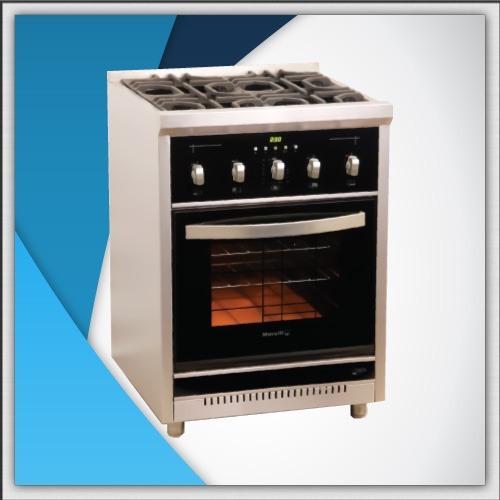 cocina morelli cristal lcd + visor + luz de horno