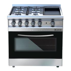 Cocina Morelli Saho 4 + Plancha Grill 82 Cm - Ahora 12 Y Ahora 18 - Envio Gratis