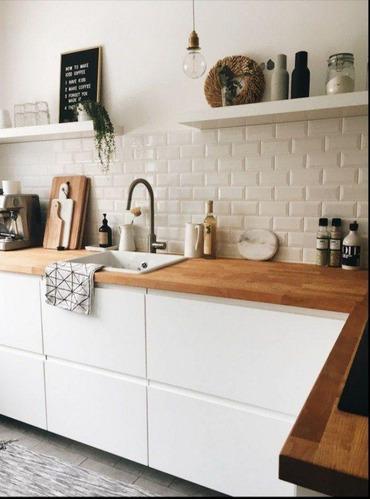 cocina muebles alacena desayunador cajoneras a medida