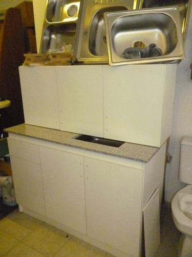 cocina economica muebles de cocinas pileta y mesada On muebles de cocina 12 cuotas sin interes
