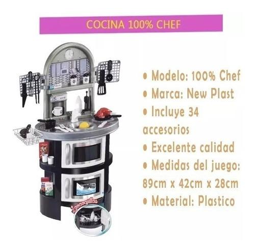 cocina new plast 100% chef 10632 mastronardi