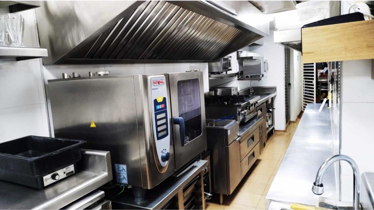 cocina oculta restaurante vendo o permuto equipos de cocina