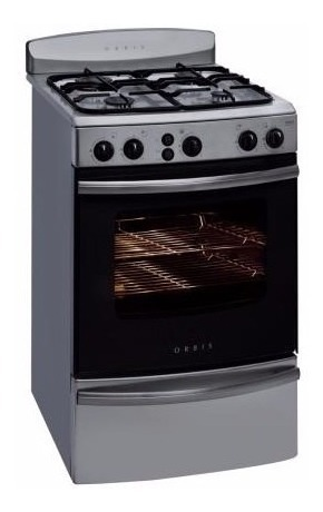 Cocina Orbis 958ac C9500 Inox C Luz Y Encendido Elec 34 799
