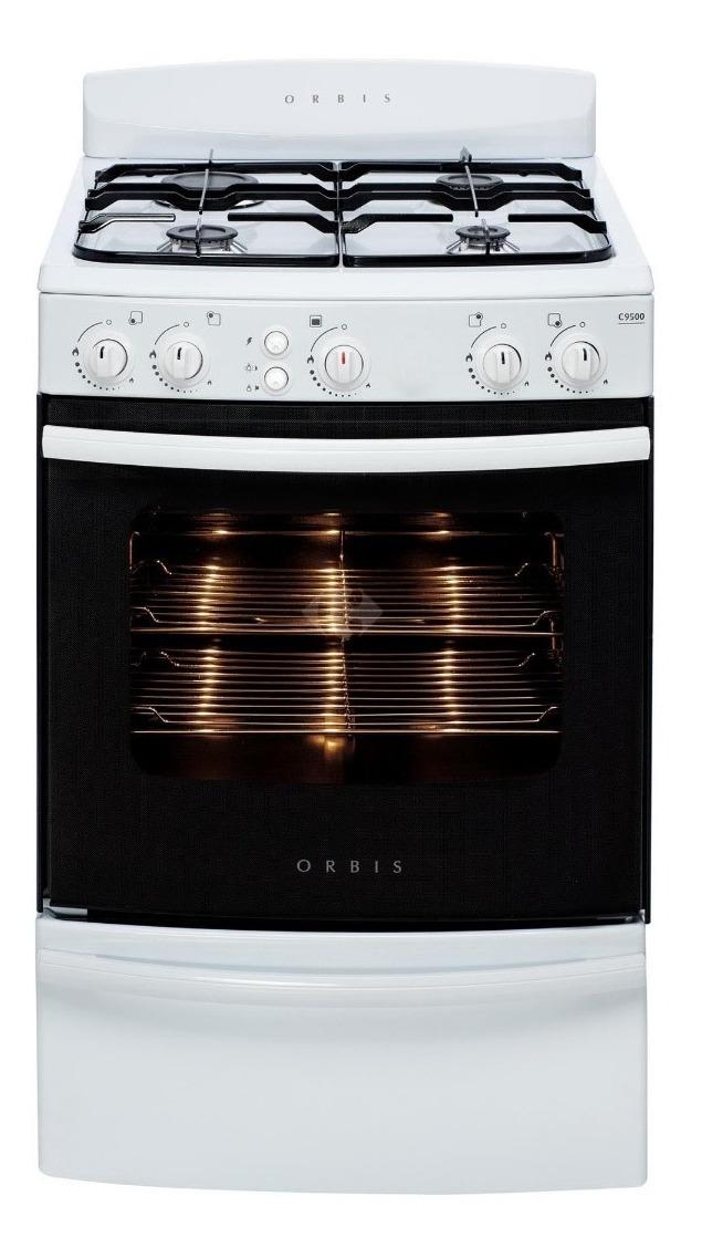 Cocina Orbis 958bc C9500 Blanca C Luz Y Encendido Elec 30 099