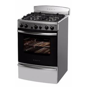 cocina orbis c/luz y encendido acero inoxidable 958 acoc9500