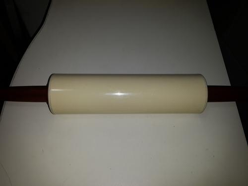 cocina - palo de amasar de plastico/acr 45 cm de largo total