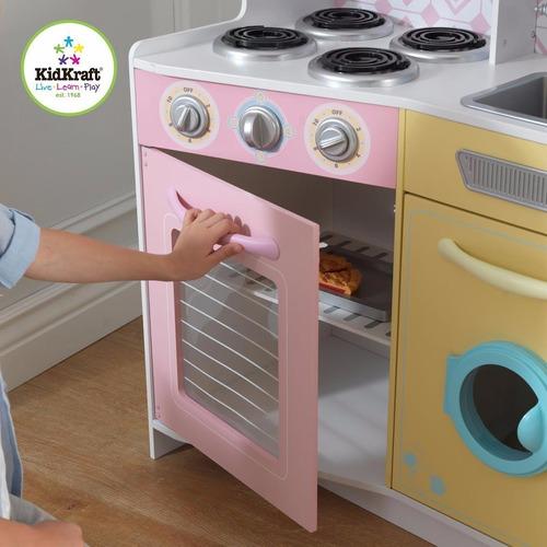 cocina para niños kidkraft 53351 - importada