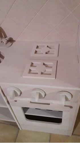 cocina pocket infantil en fibrofacil envió gratis