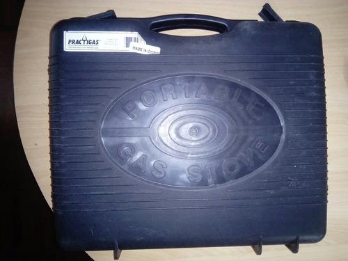 cocina portatil a gas para campamento