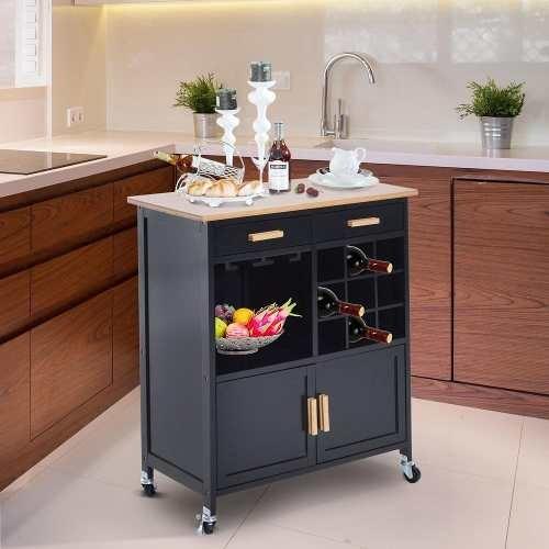Moderno Isla Carro De La Cocina Embellecimiento - Ideas de ...