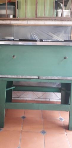 cocina reverbero industrial 2 hornillas