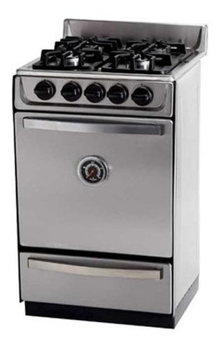 cocina semi industrial sol real motta 52cm inox. ge - aj hog