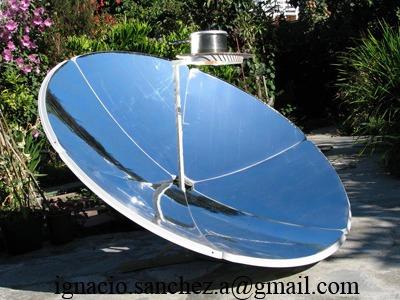 Cocina solar parabolica en mercado libre for Planos para cocina solar parabolica