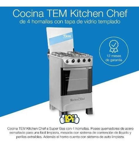 cocina tem kitchen chef 4h super gas oferta loi