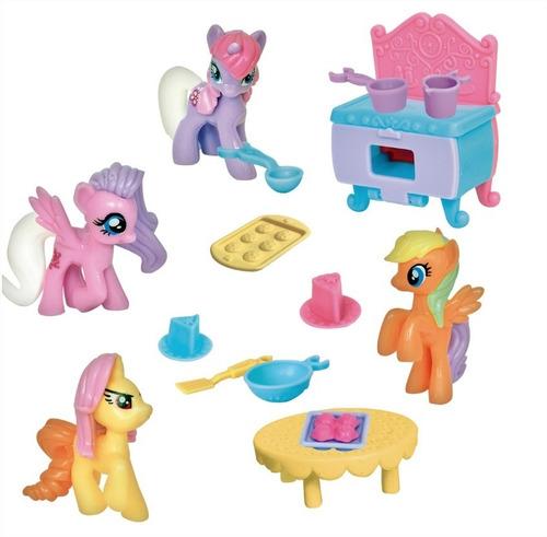cocina the sweet pony pony kitchen con accesorios ditoys new