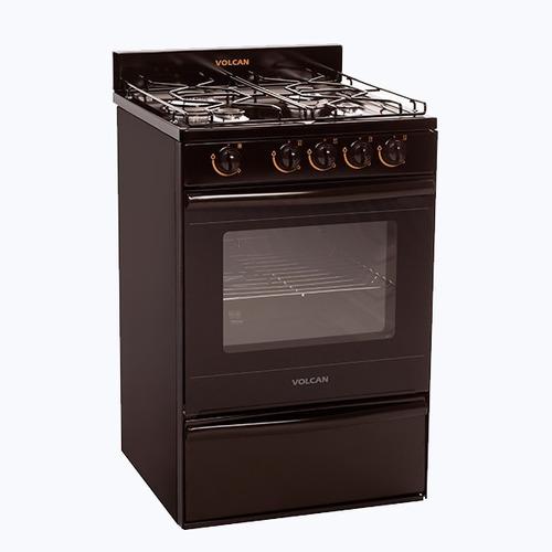 cocina volcan 55 cm autolimpiante  89654 marron