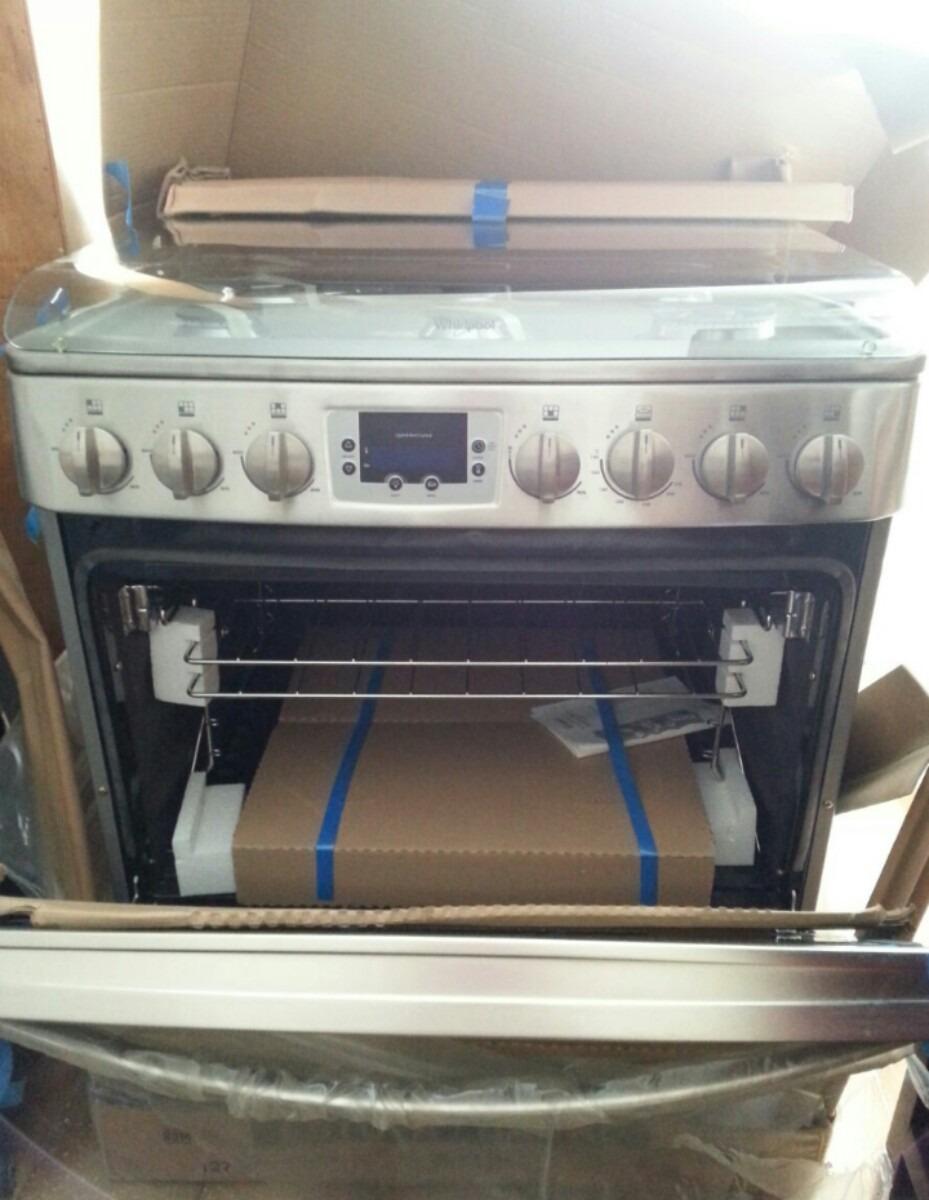 Cocina whirlpool a gas 6 hornillas bs en for Cocinas a gas nuevas