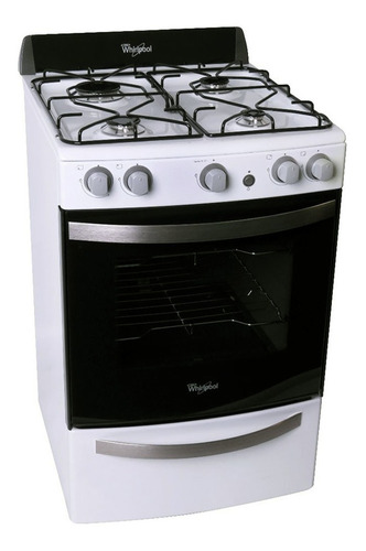 cocina whirlpool luz encendido wfb56dbvh blanca