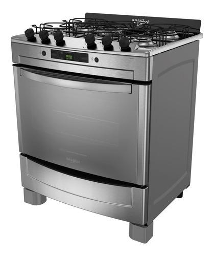 cocina whirlpool wf976xc grill 76cm conveccion 18 cuotas