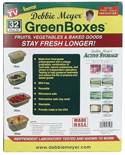 cocina y comedor,debbie meyer 32 piece greenboxes ultral..