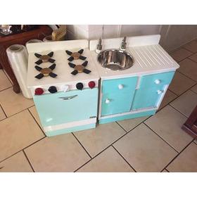 Cocina Y Lavaplatos De Juguete Madera Regalo Niña/niño