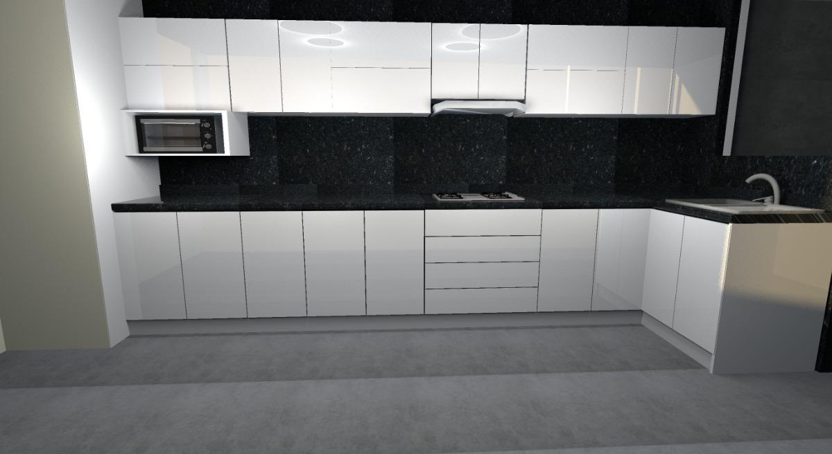 Cocina,melamina, Desde 830 Soles Diseño 3d Gratis
