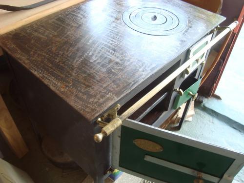 cocinas a leña reforzadas 0,85m x 0,55m plancha 12mm