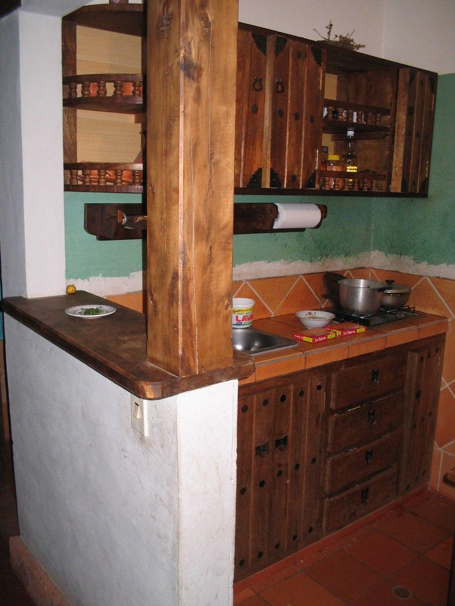 Cocinas Closet Y Puertas Rústicos En Madera Maciza Baratos