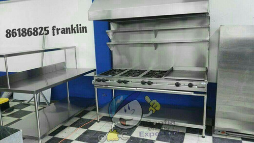 cocinas de gas equipos para soda
