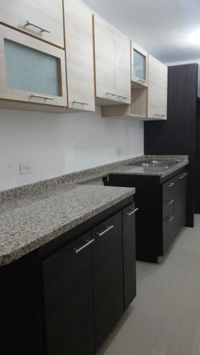 Cocinas empotradas 3 metros x 5250 incluye tope de granito for Muebles de cocina de 2 metros