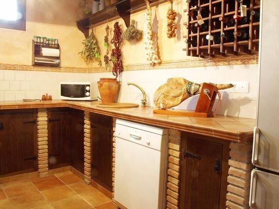 Cocinas empotradas en concreto bs 50 00 en mercado libre for Cuanto sale hacer una piscina de cemento