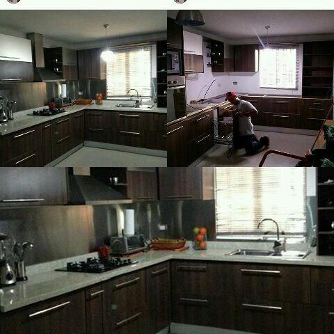 cocinas empotradas,closets y topes de granitos