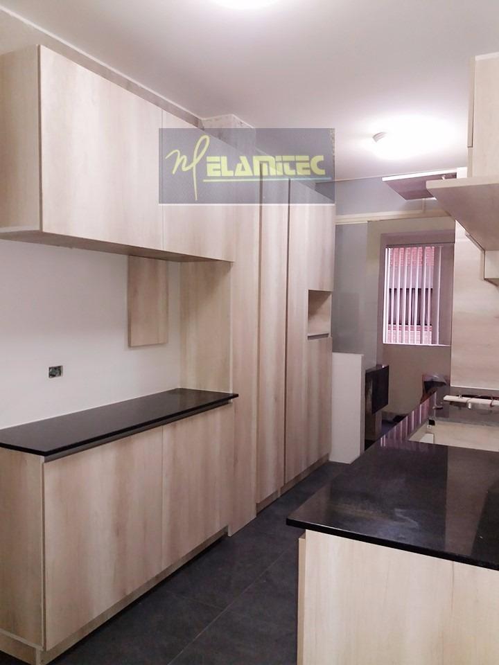Cocinas En Melamine Diseño En 3d Empresa De Arquitectura