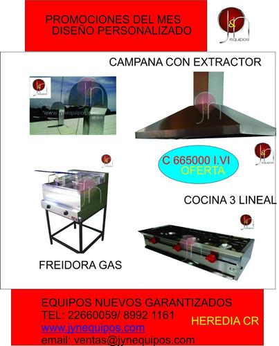 cocinas, extractores, ventiladores