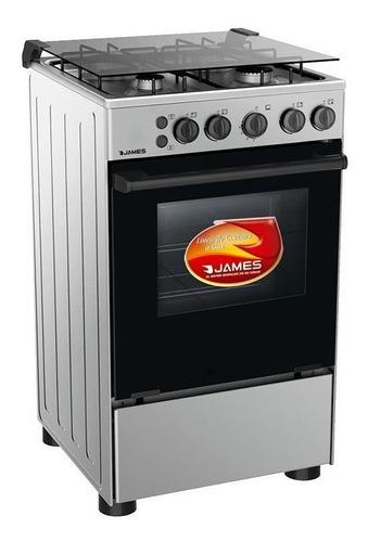 cocinas gas james c510 totalmente en acero inoxidable pcm