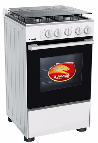 cocinas gas o supergas james 505 termocupla 4 hornallas pcm