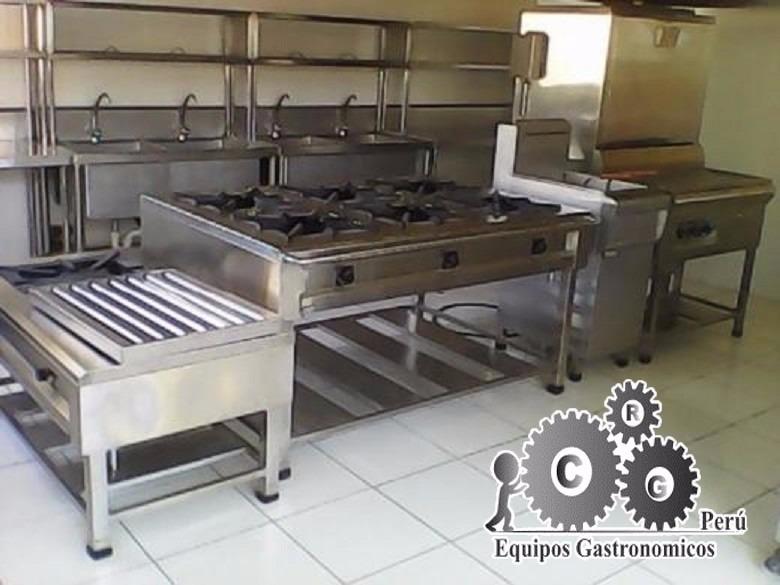 Cocinas industriales de acero inoxidable a1 s 900 00 en mercado libre - Planchas de cocina industriales de segunda mano ...