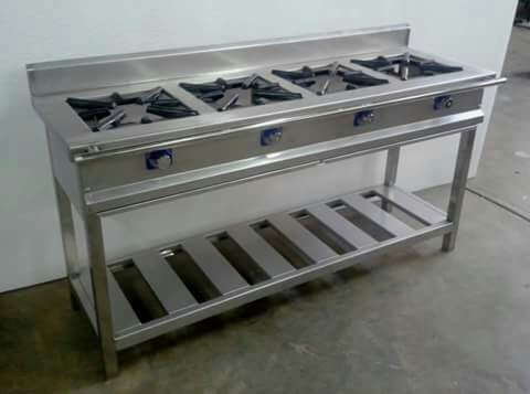 Cocinas De Gas Industriales   Cocinas Industriales En Acero Inoxidable 304 S 1 800 00 En