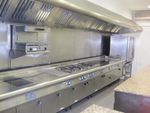 ¿cocinas industriales en acero inoxidable