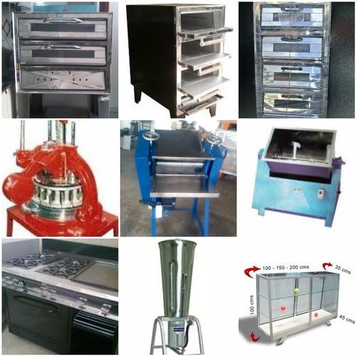 cocinas industriales, fogones, reverberos y planchas hornos