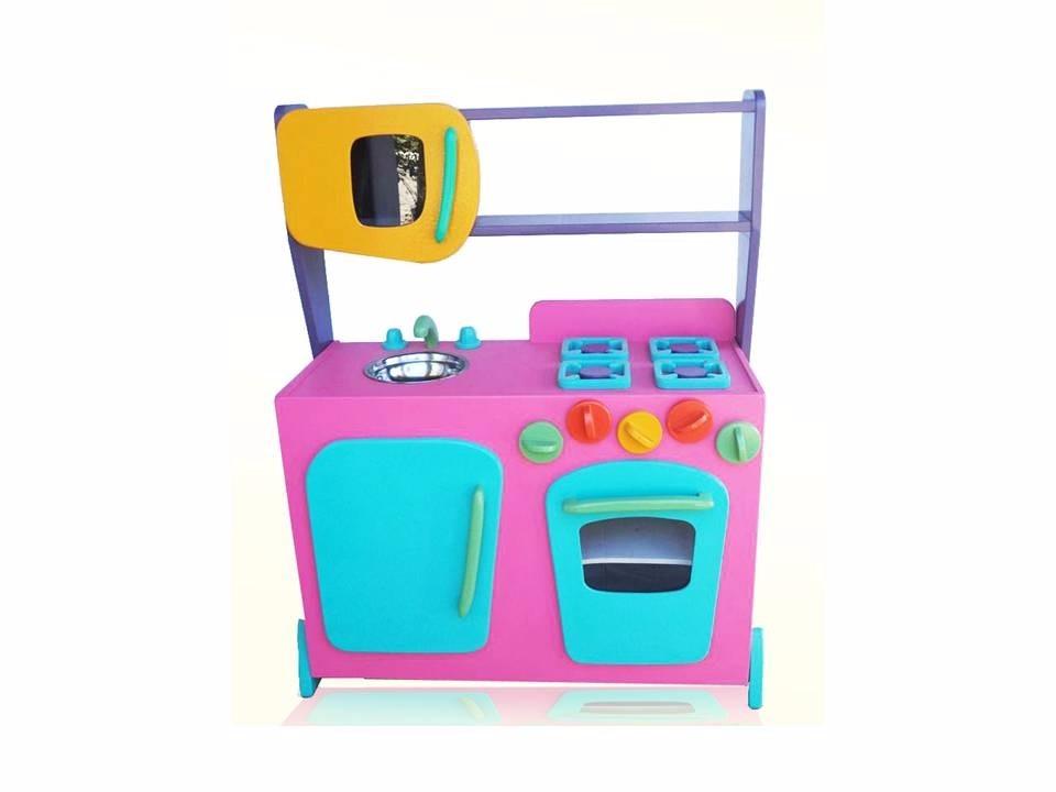 Cocinas Infantiles Juguetes De Madera - $ 3.500,00 en Mercado Libre