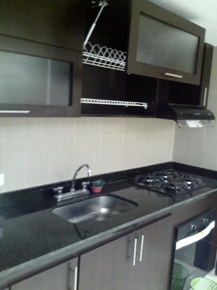Cocinas integrales de 2 metros mes n en granito for Muebles de cocina 2 metros