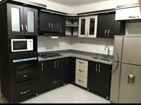 Cocinas integrales en escuadra 5 en mercado libre for Cocinas integrales con horno
