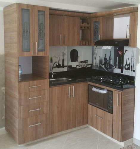 Cocinas integrales en medellin en mercado libre for Medidas de cocinas integrales de madera