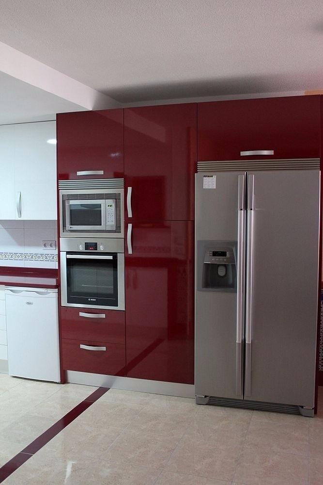 Cocinas integrales modernas a excelentes precios - Cocinas con frigorifico americano ...